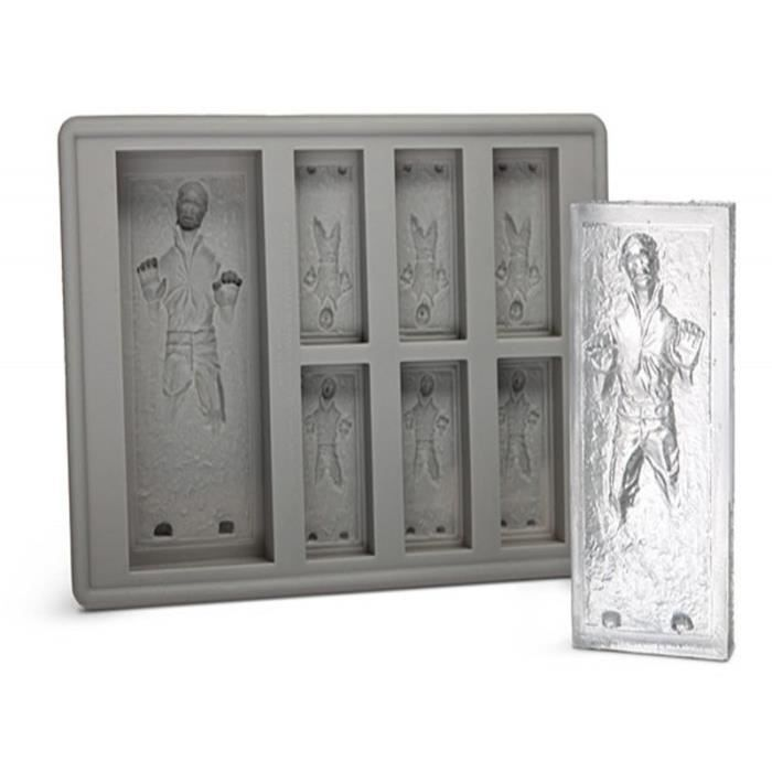 nouveaut ice silicone han solo in carbonite ice cube tray mold achat vente kit de cuisine. Black Bedroom Furniture Sets. Home Design Ideas