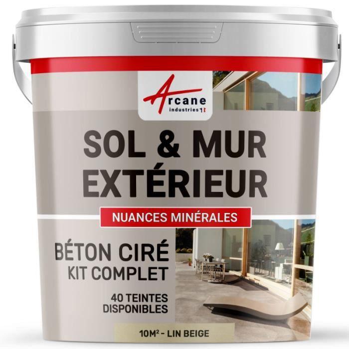 Kit Béton Ciré Extérieur Kit 10m2 2 Couches