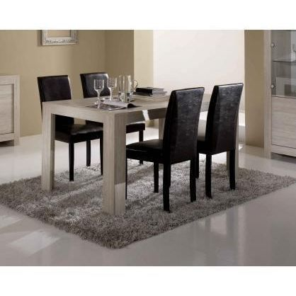 Table de salle manger clea 160 cm achat vente table for Table salle manger habitat