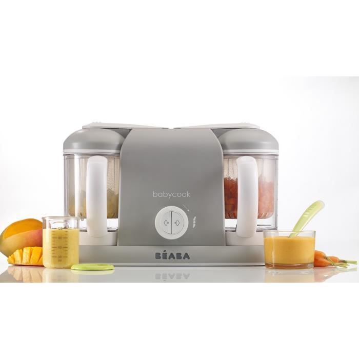 Photo de beaba-robot-bebe-babycook-duo-gris