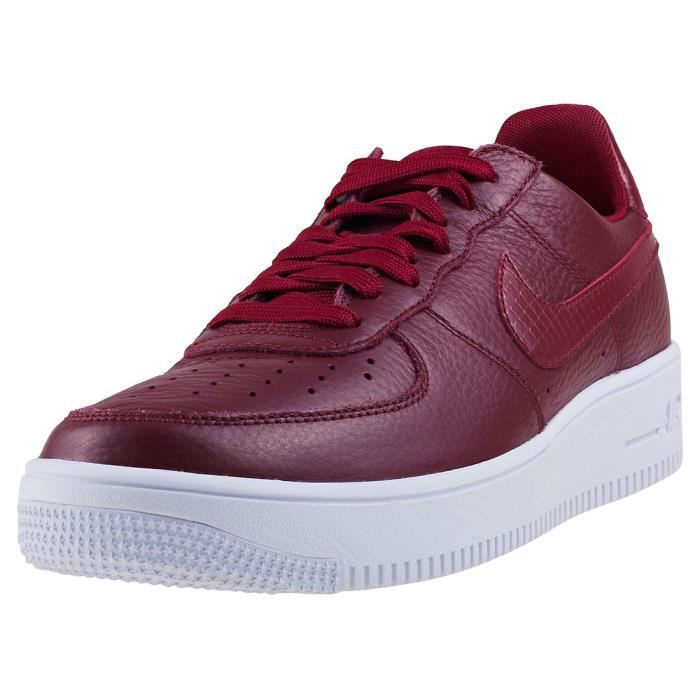 san francisco 918a4 8b173 BASKET Nike Air Force 1 Ultraforce Homme Baskets Rouge fo