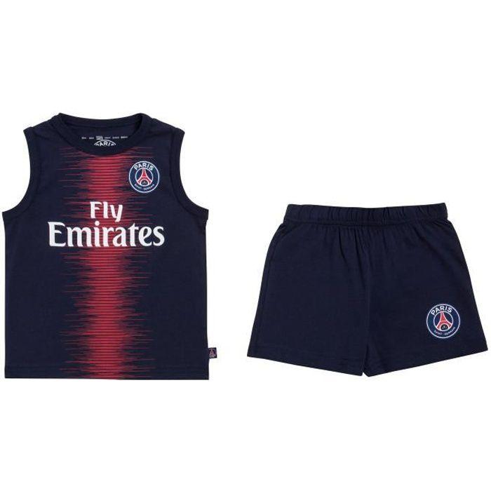 Short PSG Collection Officielle Taille b/éb/é gar/çon PARIS SAINT GERMAIN Ensemble D/ébardeur