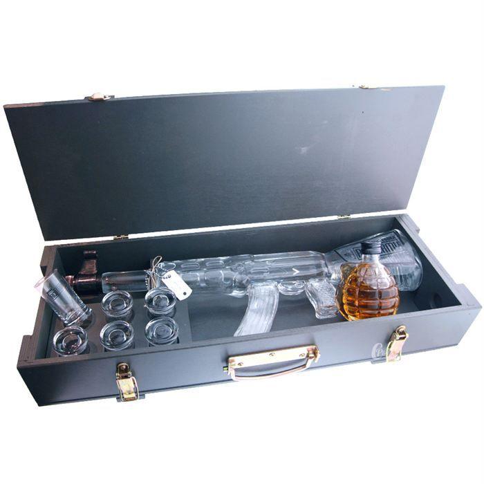 VODKA Vodka RED ARMY Kalashnikov - caisse en bois