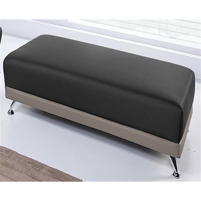 pouf switsofa city noir taupe grand mod le achat vente pouf poire soldes d t cdiscount. Black Bedroom Furniture Sets. Home Design Ideas