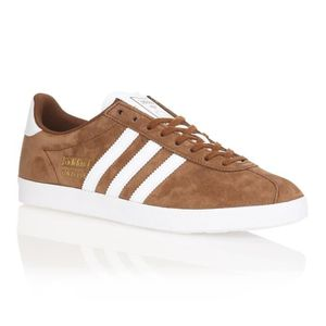 Gazelle Originals Og Achat Vente Baskets Adidas Marron Homme q1FEHFxf