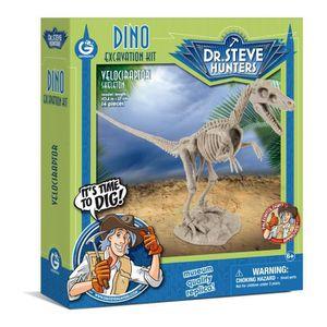 HISTOIRE - GEO GEOWORLD Excavation Kit Dino - Velociraptor
