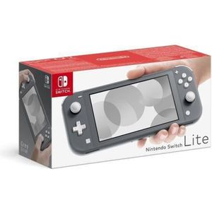 SORTIE CONSOLE NINTENDO SWITCH Console Nintendo Switch Lite Grise