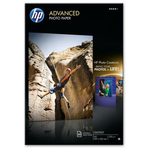 HP Papier Photo Brillant - 20 feuilles - A3 - 297 x 420 mm