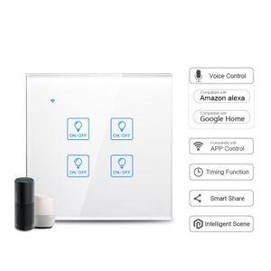 PLAQUE DE FINITION Wi-Fi Interrupteur tactile mural intelligent Inter