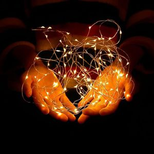 GUIRLANDE LUMINEUSE INT Guirlande Lumineuse à Piles, 10M 100 Micro LED, Bl