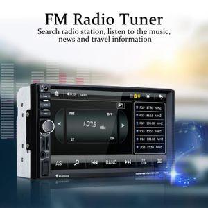 AUTORADIO Excelvan Autoradio Voiture Radio Lecteur 7'' avec