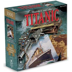 AFFICHE - POSTER Assassiner On The Titanic Mystery 1000 Piece Puzzl