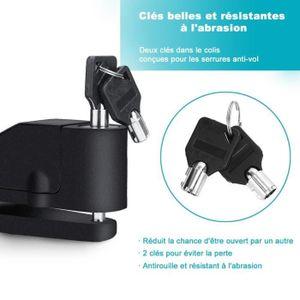 ANTIVOL - BLOQUE ROUE Antivol Moto Alarme Moto Bloque Disque Son d'Alarm