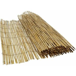 CLÔTURE - GRILLAGE Canisse bambou naturel, occultation 80%, longueur