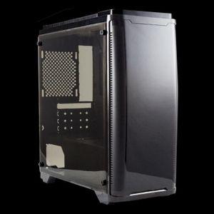 BOITIER PC  UNYKAch Armor C20, Tour, PC, SPCC, Micro-ATX, Noir