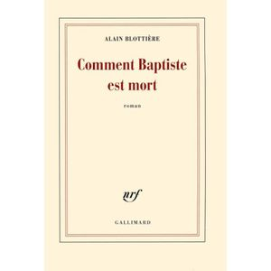 LIVRE NEUF PRIX RÉDUIT COMMENT BAPTISTE EST MORT