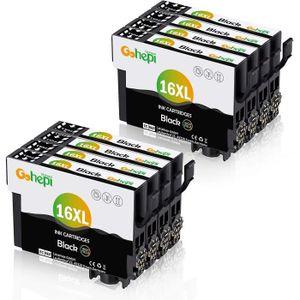 CARTOUCHE IMPRIMANTE 8 Cartouches d'encre compatible Epson 16 XL noir p