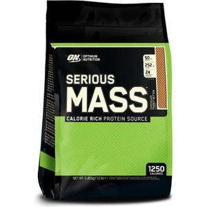 GAINER - PRISE DE MASSE OPTIMUM NUTRITION Pot Serious Mass Chocolat Beurre