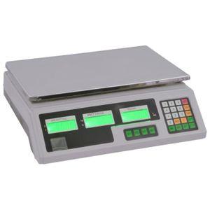 BALANCE ÉLECTRONIQUE Balance numérique 30 kg avec batterie rechargeable