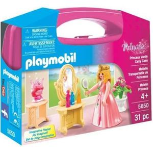UNIVERS MINIATURE PLAYMOBIL 5650 - Princess - Valisette Princesse