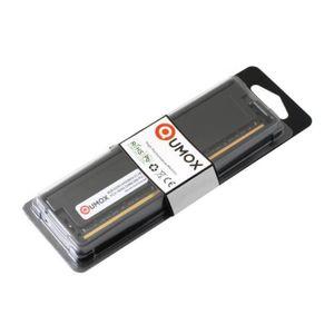 MÉMOIRE RAM QUMOX 8Go DDR4 2400 2400MHz PC4-19200 PC-19200 (28