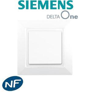 BOUTON POUSSOIR Poussoir Blanc Siemens DELTA ONE