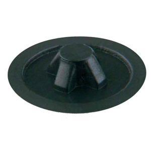 VIS - CACHE-VIS Lot de 20 Cache Vis PZ 3 Plastique 6 mm Noir