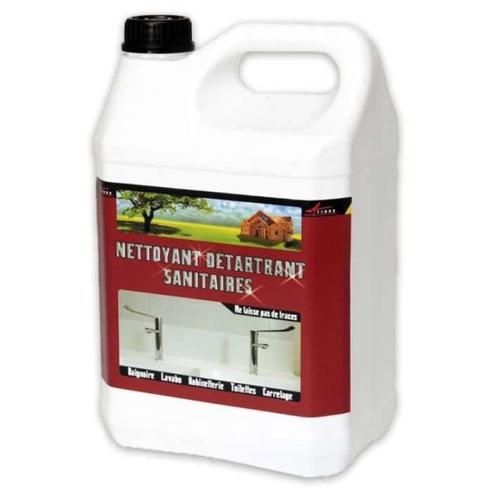 Nettoyant Détartrant Sanitaire - Transparente - Liquide - 5 L