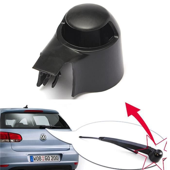 Couvercle d'essuie-glace arrière Cap pour VW MK5 Golf Polo Passat Caddy Tiguan Touran