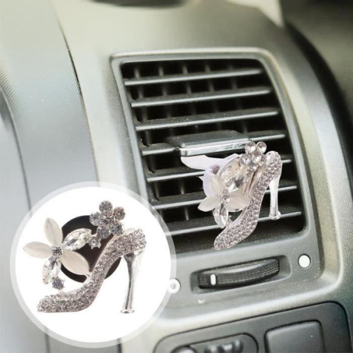 1 PC de Voiture Évent ARÔME DIFFUSIEUR PARURE FÉMININE desodorisant auto - parfum auto confort conducteur passager
