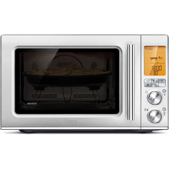 MICRO ONDES Sage Appliances SMO870 the Combi Wave 3 in 1, four micro-ondes, Acier inoxydable bross&eacute120