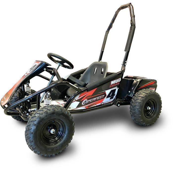 Kart cross électrique 1000W 48V 12Ah Noir