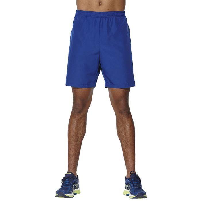 Asics Hommes Run Short Bermuda Sport Pants Trousers Bas De Survêtement Pantalon
