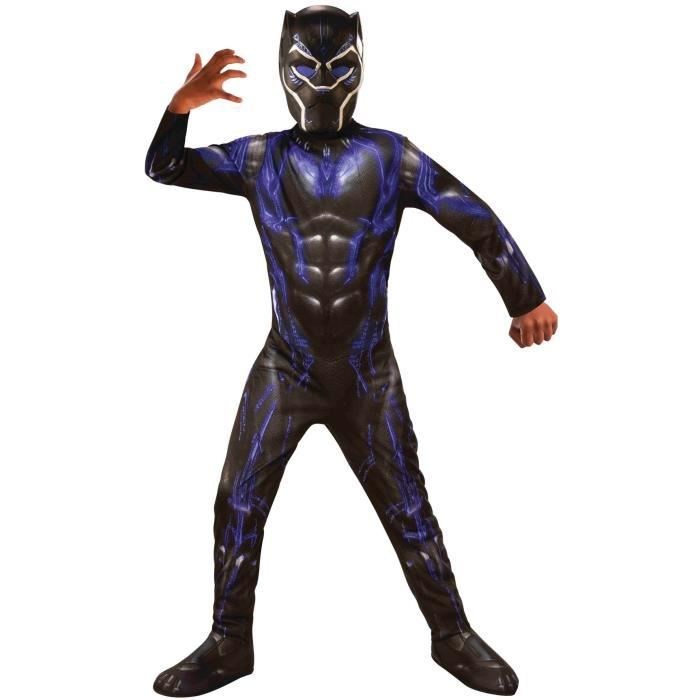 RUBIE'S. Déguisement de Black Panther Endgame Battle pour enfant. 8 ans. Enfant