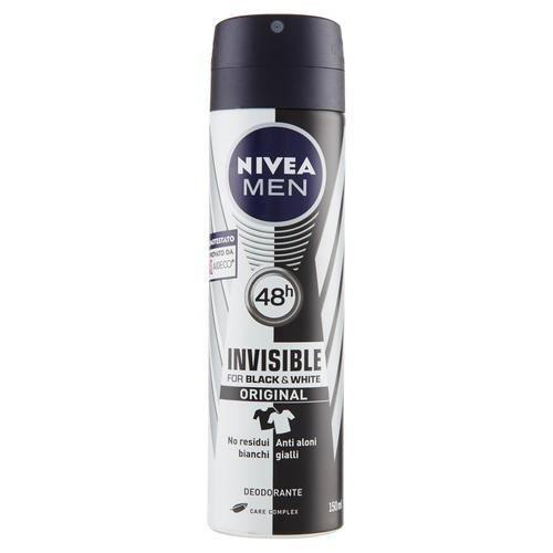 NIVEA Deodorante spray for men black&white invisible 150ml