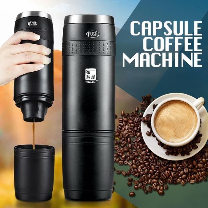 AVANC 240ml Électrique Machine à Café Manuelle Cafetière Capsule Pr Expresso