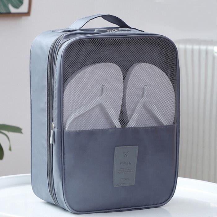 Suspendus au Tronc pour Une Pochette de Rangement au Quotidien OOOUSE Sacs de Chaussures de Voyage pour 3 Paires de Chaussures