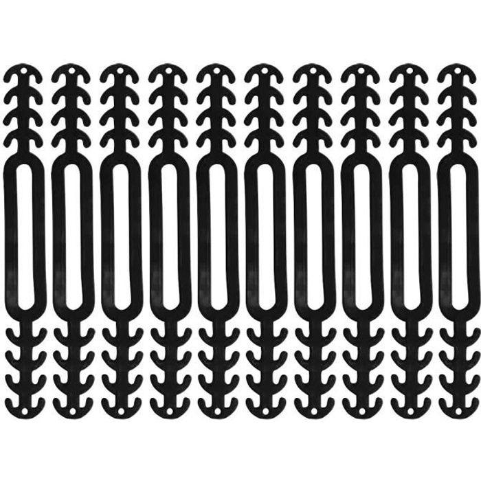 Manchon De Protection pour Oreillette 10PCS pologyase Oreillette en Silicone pour Masque Oreillette pour Masque R/éutilisable Cache-Oreilles Invisibles Anti-Douleur
