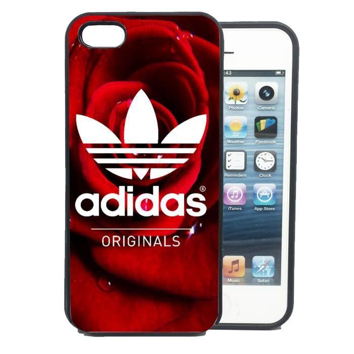coque iphone 5s adidas rose rouge swag vintage etu