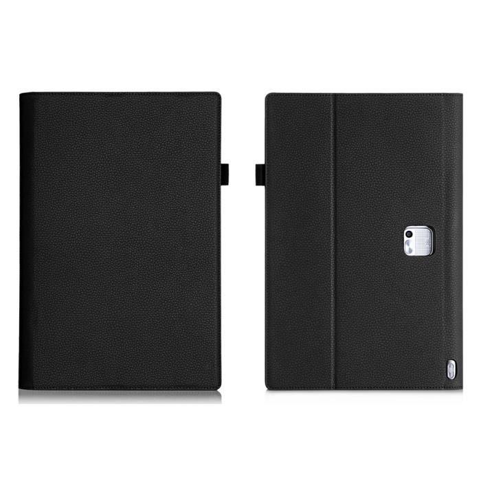 HOUSSE TABLETTE TACTILE Etui PU pour Lenovo Yoga Tablet 2 Pro 13.3 - Noir