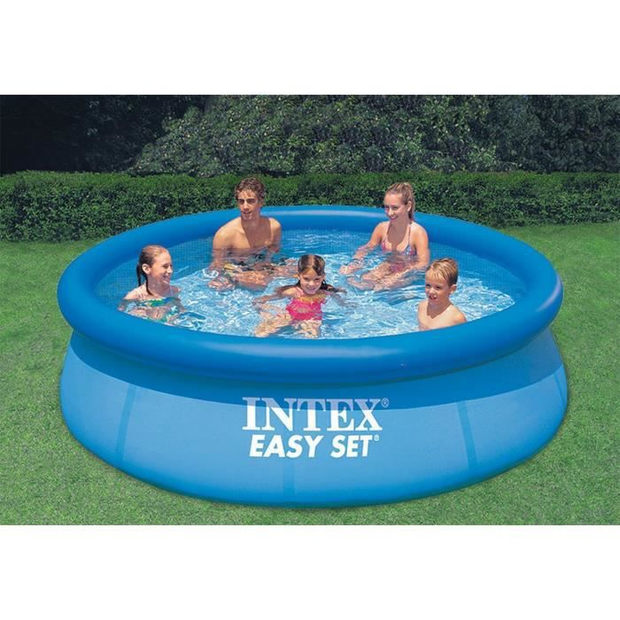 Intex easy set piscine ajustable 3 05 x 0 76 m achat for Piscine easy set