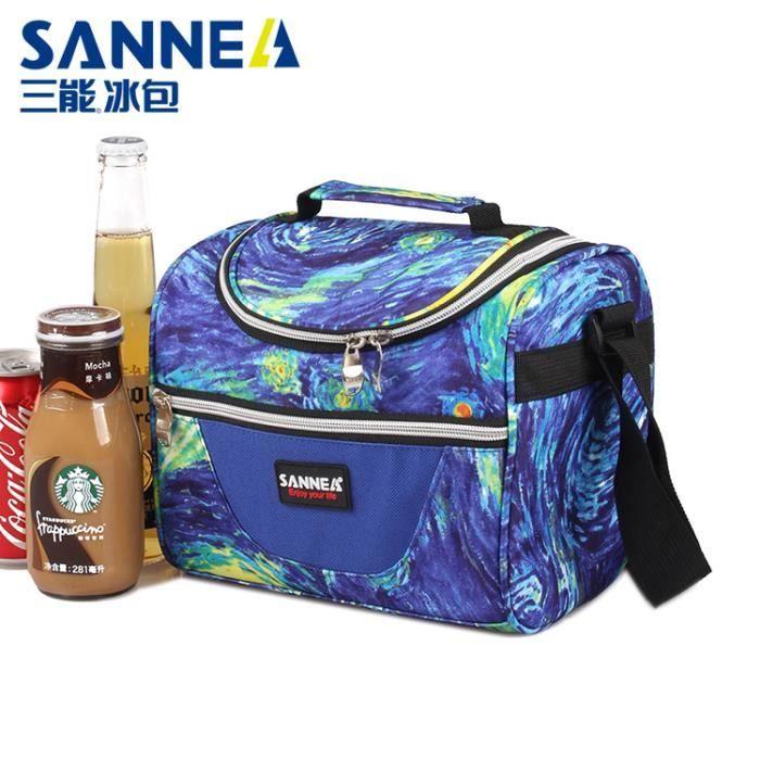 ISOLATION Sac à lunch multicolore sac à lunch portable pour