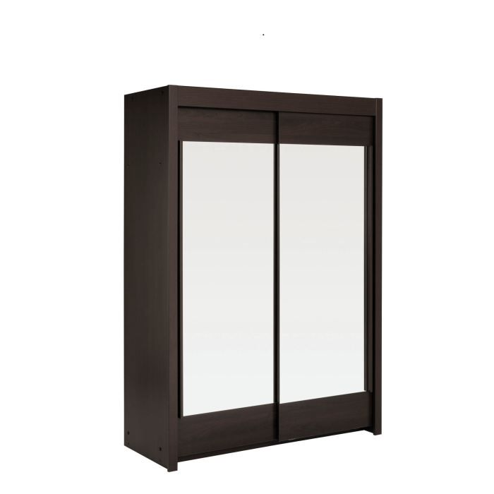 armoire 2 portes petit mod le vital caf achat vente. Black Bedroom Furniture Sets. Home Design Ideas