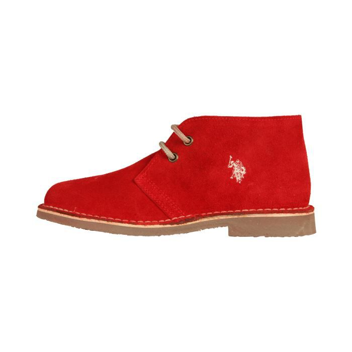 derby chaussures u s polo clark femme rouge achat. Black Bedroom Furniture Sets. Home Design Ideas