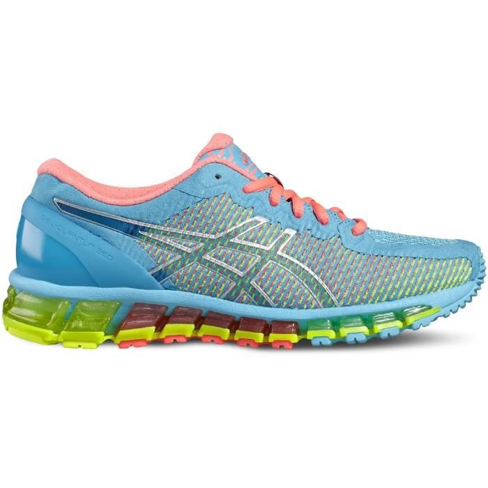 baskets multicolores asics