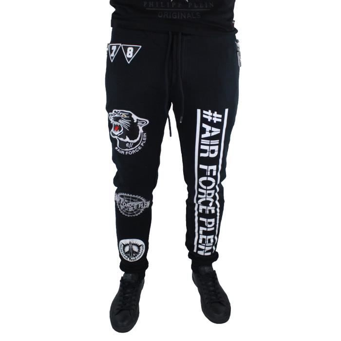 "PANTALON Philipp Plein HM681041 ""Cat Eyes"" 02 Pants Sweat P"