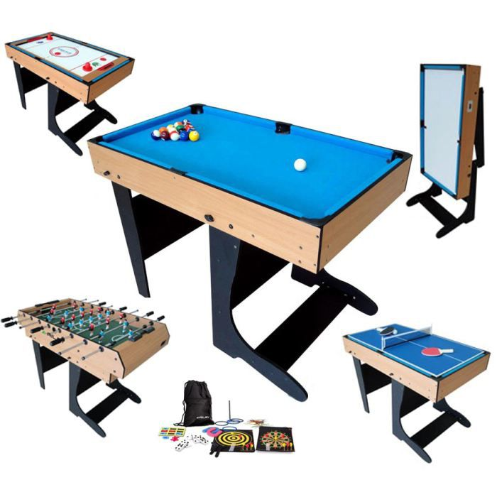 billard table multi jeux achat vente jeux et jouets pas chers. Black Bedroom Furniture Sets. Home Design Ideas