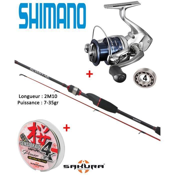SMCT 106H2B Neuf Shimano Scimitar Fonderie//Traîne Rod 10/' INTS 2 pc