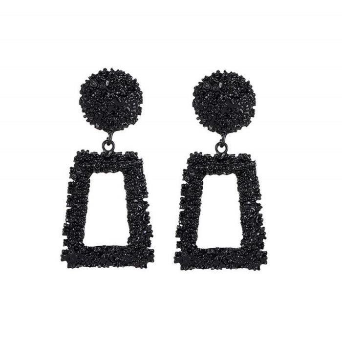 Luxe Fashion Round Boucles d/'Oreilles Femme Cristal Géométrique Boucles D/'Oreilles Créoles Bijoux Cadeau