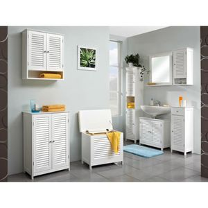 meuble linge sale achat vente meuble linge sale pas cher cdiscount. Black Bedroom Furniture Sets. Home Design Ideas